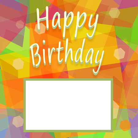 Happy birthday colorful background with blank space for greeting happy birthday colorful background with blank space for greeting message or bright photograph stock photo m4hsunfo