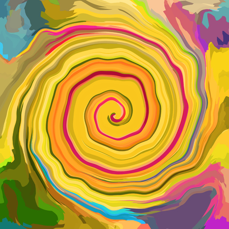 Abstract art swirling background