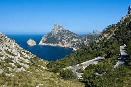 Cap de Formentor, Mallorca photo