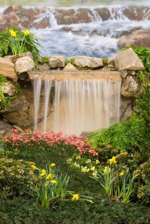 Garden waterfalls Stock Photo - 903758