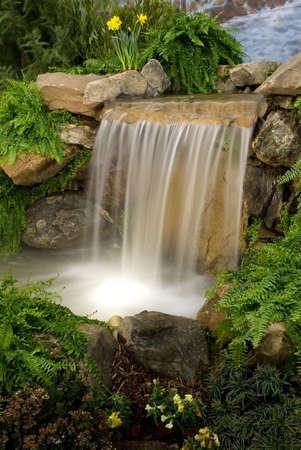 Garden waterfalls Stock Photo - 903773