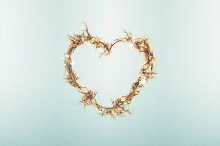 Hearts abstract