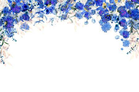 Flower Frame Banque d'images - 130798708