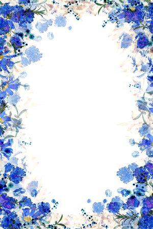 Flower Frame Banque d'images - 130798706