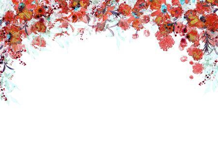 Flower Frame Banque d'images - 130798909