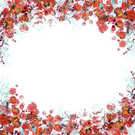Flower Frame Banque d'images - 130806061