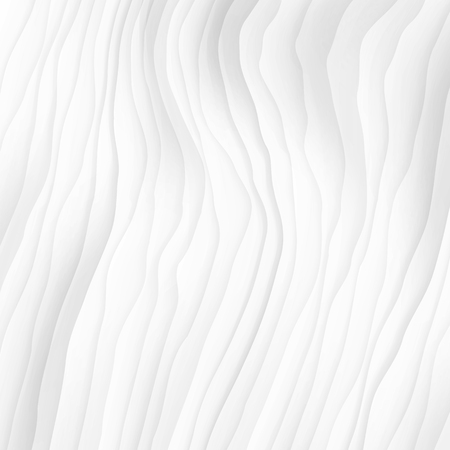 White texture. abstract pattern seamless. wave wavy nature geometric modern. on white background for interior wall 3d design. vector illustration