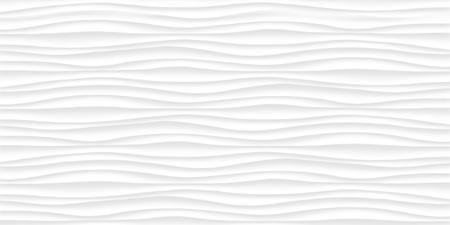 Linie weiße Textur. Graues abstraktes Muster nahtlos. Wellenförmige Natur geometrisch modern. Auf weißem Hintergrund. Vektor-Illustration