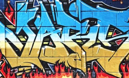 Graffiti in Novi Sad Servië