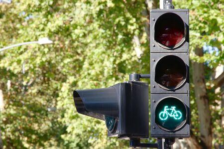 bicycle traffic light