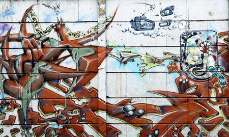graffiti kunst in Novi Sad Servië 6