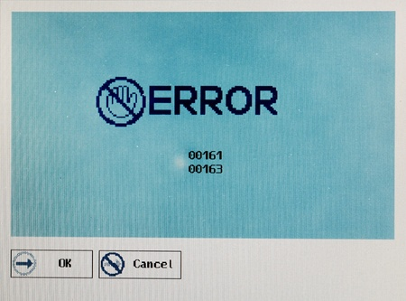 vintage windows error message photo