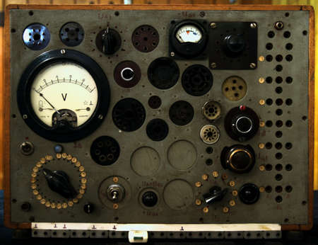 vintage radiozendapparatuur