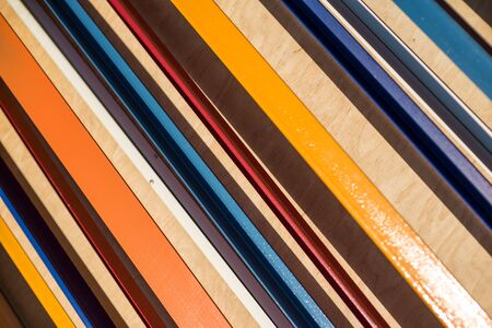 diagonal stripes: Colorful striped background. Diagonal stripes pattern