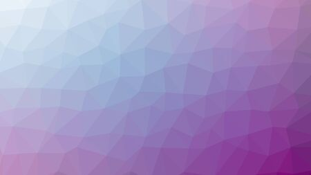 emplate: violet abstract background consisting of low poly triangles. Illustration