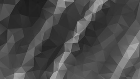 gray abstract background consisting of low poly triangles.