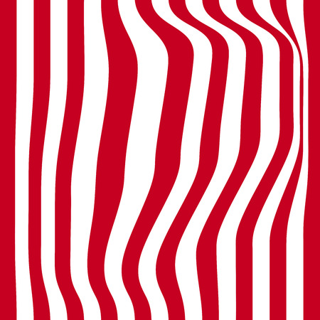 Striped abstract background. red and white zebra print.