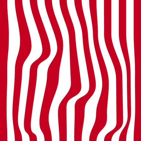zebra skin: Striped abstract background. red and white zebra print.