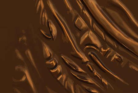 bronze background: abstract metal bronze background illustration.