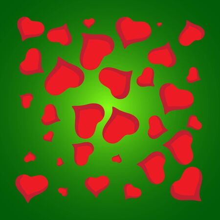 valentine s: Abstract love background full of hearts. Valentine s day for card. Stock Photo