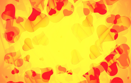 valentine s: Abstract love background full of hearts. Valentine s day frame for card with copyspace. Stock Photo