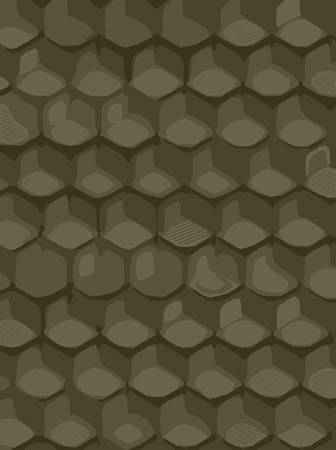 hexagonal: abstract background hexagonal technology illustration for print.