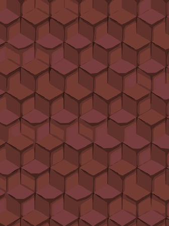 for print: abstract background hexagonal technology illustration for print.