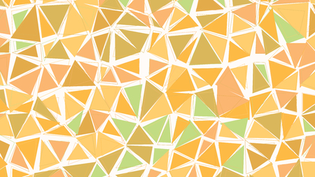 biege: Abstract biege brown green earthtones gradient lowploly of many triangles background for use in design