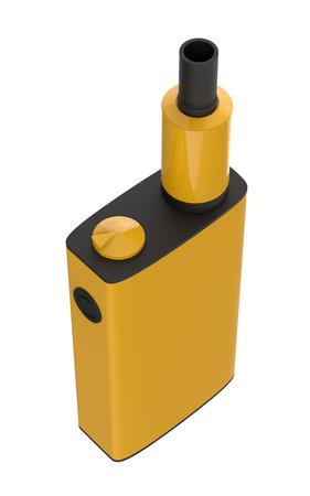 Popular modern vaping device . Safely Vaper gadget 3d illustration.