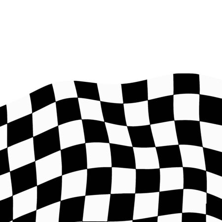 flooring: Racing background with checkered flag vector illustration. EPS10