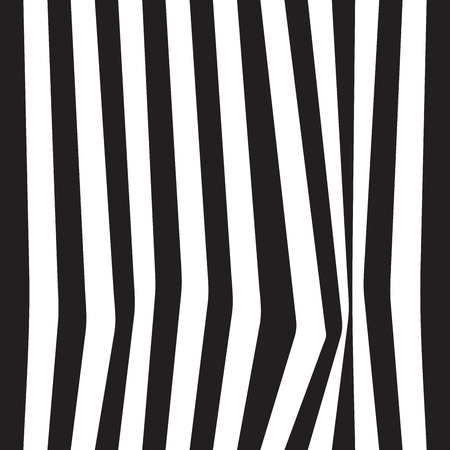 folds: Striped seamless abstract background. black and white zebra print. illustration