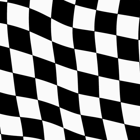 competitions: Racing background with checkered flag abstract illustration.