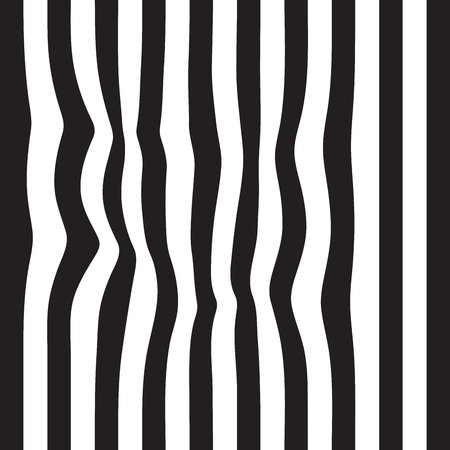 details: Striped abstract background. black and white zebra print. Vector seamless illustration. eps10 Illustration