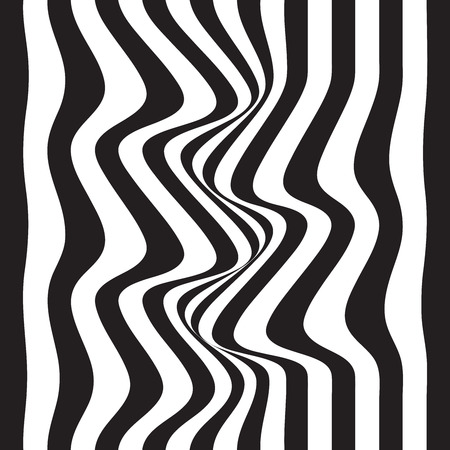 Striped abstract background. black and white zebra print. Vector illustration. eps10.