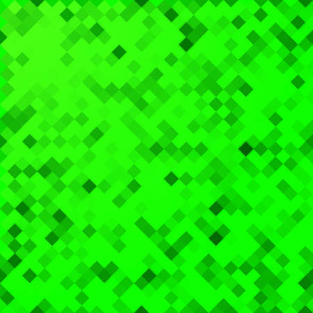 abstract seamless mosaic green background. Can be used as gift wrapping paper Banque d'images