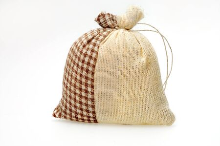 animal pouch: Bag on a white background