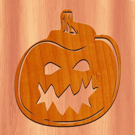 Halloween pumpkin Zdjęcie Seryjne