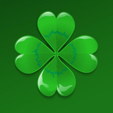 fourleaved: Clover for luck, four-leaved