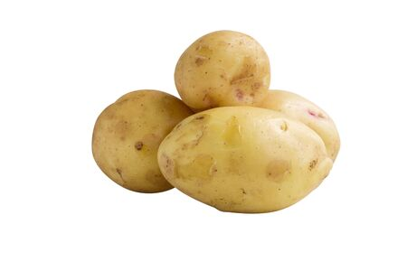 New potatoes isolated on white background Stock Photo - 14532906