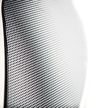 Metal speaker mesh Banque d'images