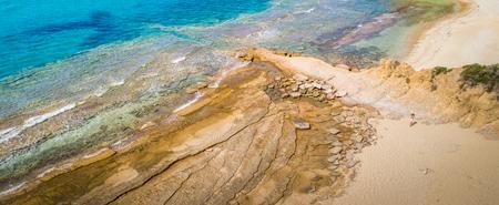 Beautiful landscape (seascape)  on thassos island