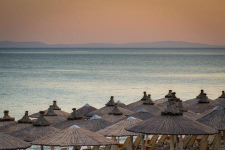 beach umbrellas Reklamní fotografie