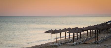 beach umbrellas Banque d'images