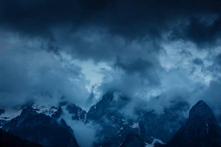 Storm through the Julian Alps