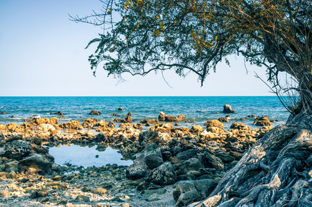Haad Yuan Beach Koh phangan Thailand 写真素材