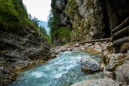 Martuljek river in Slovenia, Julian alps