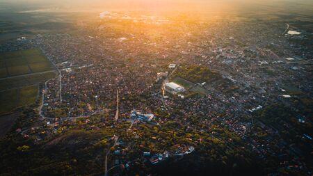 Vrsac city landscape in Serbia, Vojvodina Reklamní fotografie - 131927051
