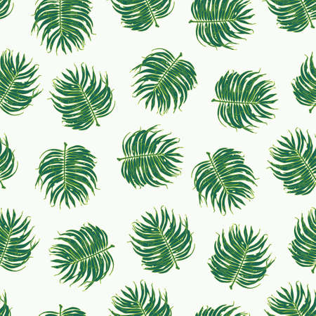 exotic: Exotic Seamless Tropical Floral Pattern