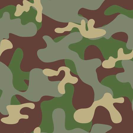 Camouflage Seamless Pattern Illustration
