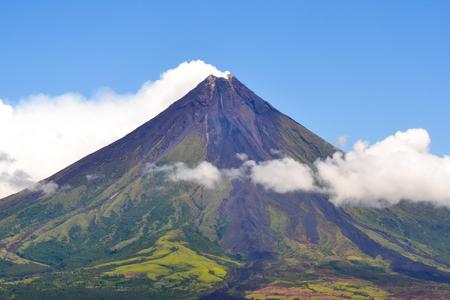Mayon Volcano Standard-Bild